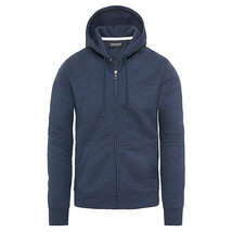 TIMBERLAND A1MQQ-M14 MEN'S NAVY FULL ZIP HOODIE - $59.99