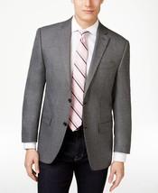 Michael Kors Men's Grey and Black Herringbone Classic-Fit Sport Coat Siz... - $126.23