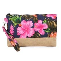 Guamella Flower printed Wristlet bag  - $19.95