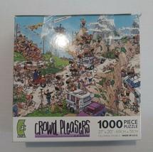 Jan Van Haasteren Tour de la Tour 1000 Piece Puzzle by Ceaco Crowd Pleasers - $15.83