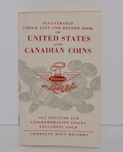 Illustrated Check List And Record Book Of US And Canadian Coins 1960 Whi... - $6.23