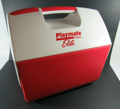 Vintage Playmate Elite Cooler By Igloo Red/White - $24.75