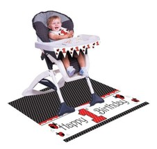 Red Ladybug Fancy 1st Birthday Party High Chair... - $6.89