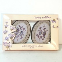 Yardley French Lavender Bar Soap 2x100g Hostess Soaps Canada New In Box Vintage - $10.49
