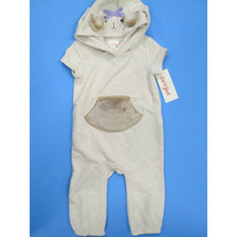 Cat & Jack short sleeve hooded Squirrel pant set SIZE 3-6 MONTHS BRAND NEW! - $8.86