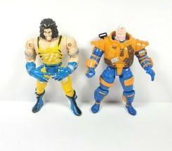 """Vintage X-Men Action Figures Logan Wolverine 1998 Toybiz Cable 5"""" 1993 Marvel - $19.99"""