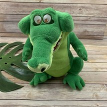 Disney Store Tick Tock Crocodile Plush Stuffed Animal Peter Pan Medium 1... - $24.74
