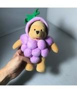 Disney Store Winnie the Pooh Purple Grape Costume Plush Stuffed Animal T... - $39.99