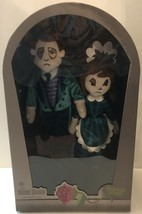 Disney Parks Haunted Mansion Glow Limited Plush Host & Hostess New with Box - $77.61