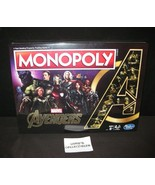 Marvel Avengers Endgame Monopoly special edition board game gold color p... - $80.73