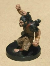 Dungeons & Dragons Miniatures Longtooth Barbarian #19 D&D Mini Collectible Wiza! - $4.99