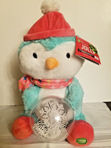 Christmas Animated Musical Winter Wonderland Plush Penguin with Snowball - $34.99