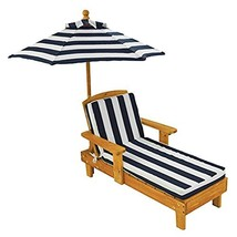Outdoor Chaise with Umbrella - $68.01