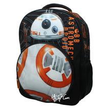 NWT Star Wars Disney BB-8 Droid w/ LED Light & Sound  School Bag Travel Backpack - $39.99