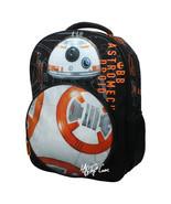 NWT Star Wars Disney BB-8 Droid w/ LED Light & Sound  School Bag Travel ... - $39.99