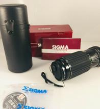 Sigma 80-200mm f/ 3.5-4 Zoom MC Lens w/Promaster Spectrum 7 52mm Filter Canon - $41.23