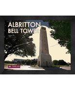 """Texas A&M University """"Albritton Bell Tower"""" 13 x 16 Art Deco Framed Print  - $39.95"""
