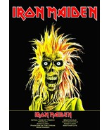 "Iron Maiden British Rock Band ""Self Titled"" Album Reproduction Stand-Up ... - $14.99"