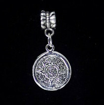 NICE The Sun stone symbol bead charm jewelry sterling silver - $20.17