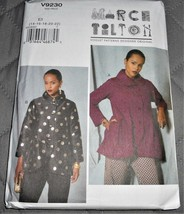 Pattern Vogue Designer Jacket March Tilton V9230 Uncut Factory Folder - $14.35