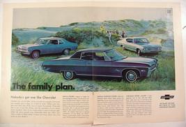 1968 Chevrolet Nova Coupe Impala Custom Coupe Chevelle Sport Coupe Print Ad - $9.99