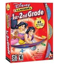 Disney's 1st & 2nd Grade Bundle (Pixar 1st Grade, Secret Keys, and Aladd... - $12.71