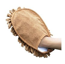 Microfiber Car Wash Mitts Scratch Free Wash Mitts Set of 2