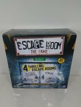 Escape Room The Game 4 Room Edition 60 Minute Chrono Decoder Minimal Use  - $39.59
