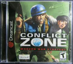 Conflict Zone: Modern Warfare Strategy for Sega Dreamcast - $19.34