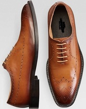 Handmade Men's leather Brogue shoes,Oxford shoes,formal shoes,Men's Office shoes - $144.99+