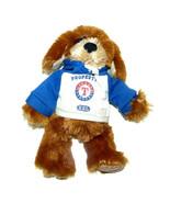 Texas Rangers Puppy Dog wearing Hoodie Plush Lovey Stuffed Animal 10 inc... - $16.71