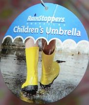 RainStoppers W104CHOWLS Multicolored Manual Open Umbrella Owls image 4