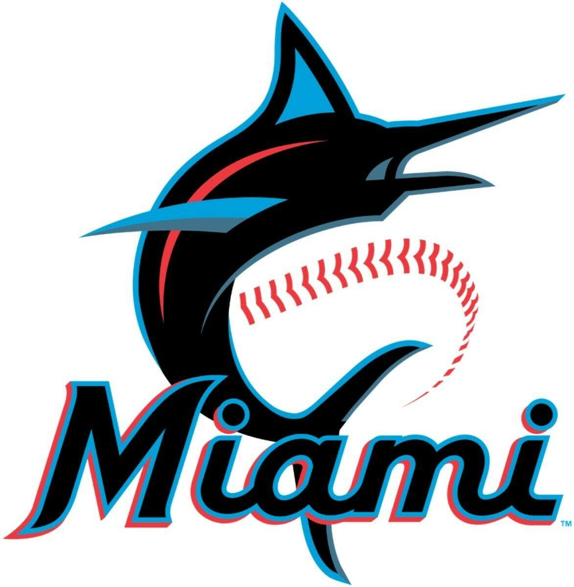 Miami Marlins #8 MLB Team Pro Sports Vinyl Sticker Decal Car Window Wall - $4.46 - $8.62