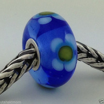 Authentic Trollbeads Ooak Murano Glass Unique  (#402) 13mm Bead Charm, New - $33.24