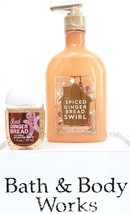 Bath & Body Works Gingerbread Swirl  Hand Soap & Iced Gingerbread PocketBac - $19.05