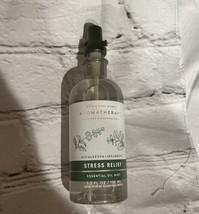 Bath and Body Works Aromatherapy STRESS RELIEF Pillow Body Mist spray 5.... - $13.50