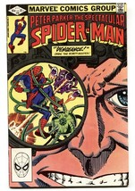 SPECTACULAR SPIDER-MAN #68-Jigsaw issue-comic book 1982 - $18.92
