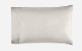 *Ralph Lauren 624 Solid Sateen Standard Pillowcases (2) - Vintage Silver NWT - $52.76