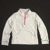 Lilly Pulitzer Girls Popover French Terry Long Sleeves Jacket. S M L - $26.00