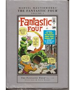 Marvel Masterworks HC Fantastic Four Vol 1 #'s 1-10 Brand New Sealed - $29.95