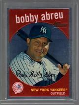 2008 Topps Heritage Chrome C190 Bobby Abreu 1050/1959 Yankees - $1.99