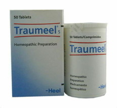 HEEL Traumeel S Homeopathic 50 tablets Anti-Inflammatory Pain Relief Ana... - $10.40