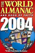 The World Almanac and Book of Facts 2004 [Hardcover] Park, Ken - $4.86