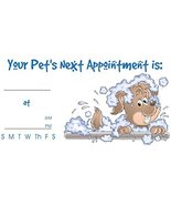 """Pet Appointment Kards Vet Grooming Client Reminder Cards 2 x 3.5"""" 100 Ct... - $21.23"""
