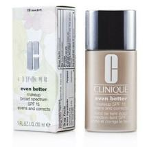 Clinique Even Better Makeup Foundation SPF  19 Clove 1.0 Oz NEW SHIPS FREE - $18.76