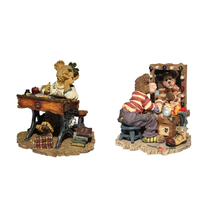 Boyds Bears and Friends Bearstone Collection Graffitie...Put on Your Happy Face - $24.97