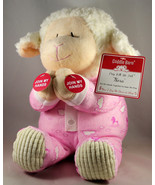 "Nora Lamb ""Now I lay Me Down To Sleep""NEW Plush Cuddle Barn Light Sing A... - $22.70"