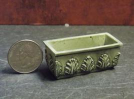 """1 Pcs Dollhouse Miniature Resin Box Planter Flower 1:12"""" Scale - DL - $30.00"""