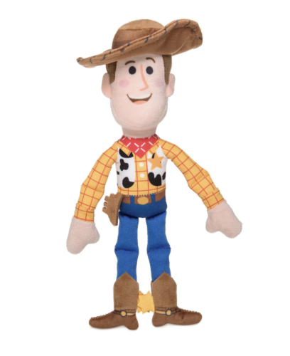 Disney Toy Story Woody Plush Rattle for Baby New with Tags