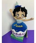 Betty Boop Birthday Bash Cupcakes June Plush Stuffed Sugar Loaf with Tag... - $16.82
